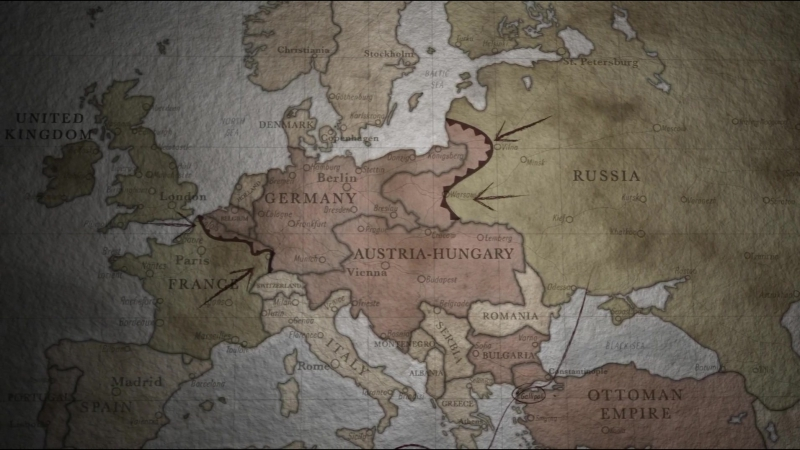 Мировые войны (1 сезон - 1 серия из 3) - The World Wars (BaibaKo) WEBDL