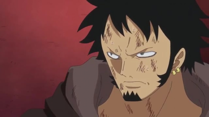 Момент из 679 серии аниме Ван-Пис / Большой куш / One Piece TV