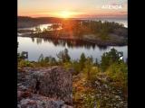 Ладожское озеро. Путешествия по России