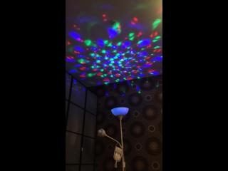 Светодиодная диско - лампа