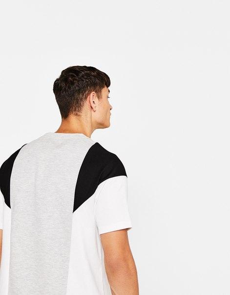 Комбинированная футболка