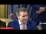 Рамзан Кадыров  встретился с генеральным директором ФГУП «Почта России» Николаем Подгузовым