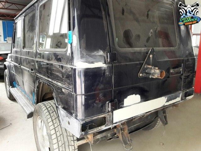 Кузовной ремонт  gelandewagen