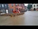 Marktplatz Goslar säuft ab