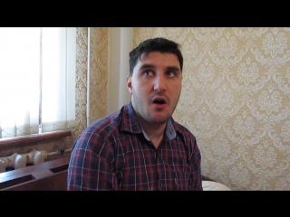 Эльдар Богунов показывает актерскую игру из фильма
