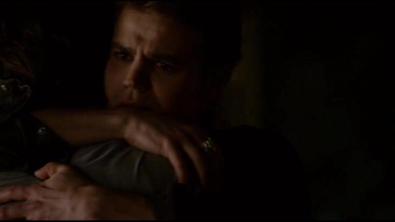 Дневники вампира - 6.05 - Стефан видит Деймона, вернувшегося из тюремного мира (Озвучка Кубик в Кубе)