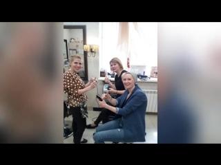 Проводила мастер класс по HairTattoo/Салон красоты Пастораль, ул.Уральских Рабочих, 2