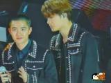 171115 AAA Kai and Kyungsoo during encore