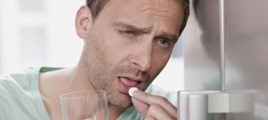 Что принять с похмелья от головной боли