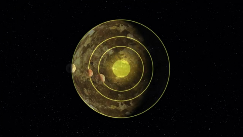 Artificial Intelligence and NASA Data Used to Discover Eighth Planet Circling Di