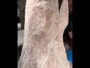 Фахрийе Эвджен свадебное платье детали
