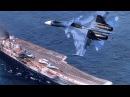 DCS World Су-33 Четыре посадки по КГС на Адмирал Кузнецов