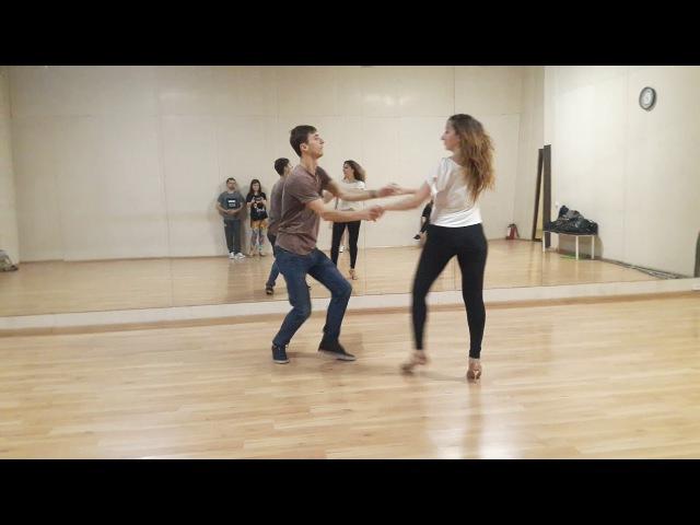 Ipanema Dance Studio - Zouk Demo - Андрей и Аня
