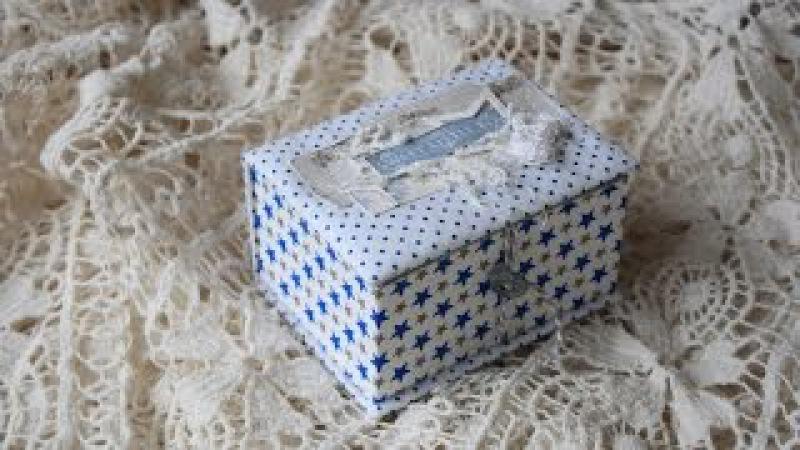 МК коробочка мамины сокровища компактно, просто и удобно