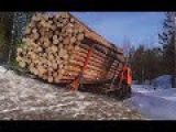 Best Logging Truck Drivers Skill With Dangerous Extreme Fields (Part 5)