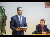 Юрий Павлов вступает в должность главы Гдовского района (21.11.2017)