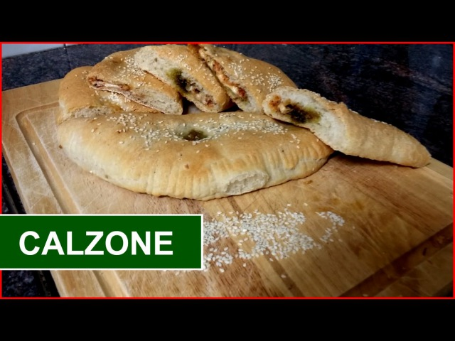 CALZONE Recipe How To Make A Calzone Simply Food