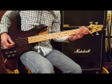 Warmoth G4 SSB Short Scale Bass Demo