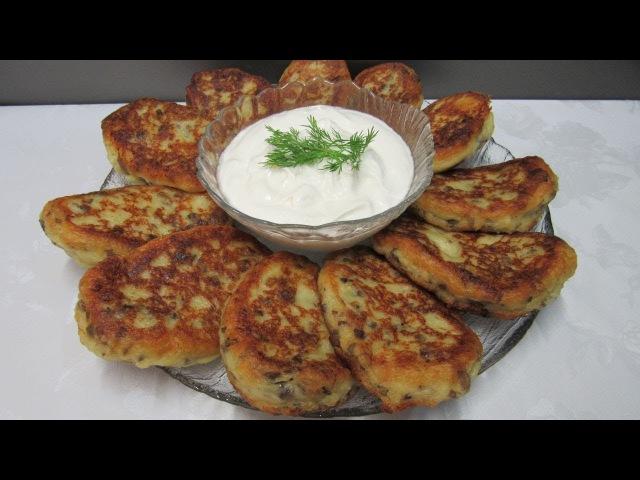 Картофельники с грибами или ленивые зразы - Вкусный Уголок