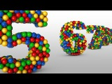 Learn Numbers for Children with Balls Colors  Kids Children Toddler Learning Videos