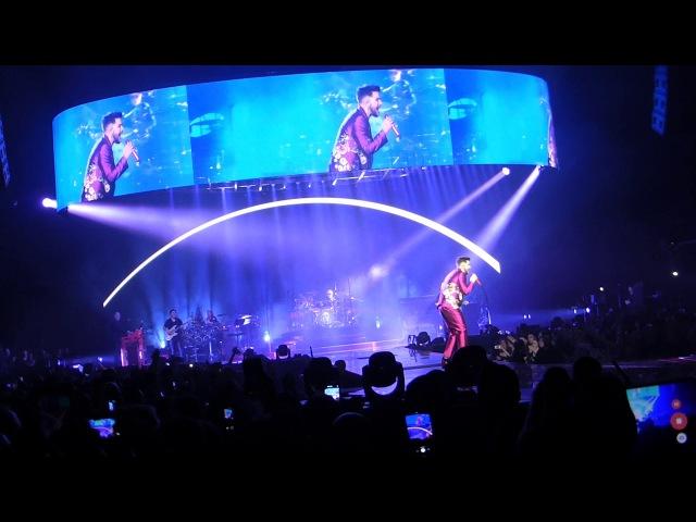 Queen Adam Lambert-Dont Stop me now@Le Galaxie 12 11 17