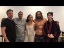 Видео со съемок «Лиги справедливости» поддержал благотворительность Аквамена 2...