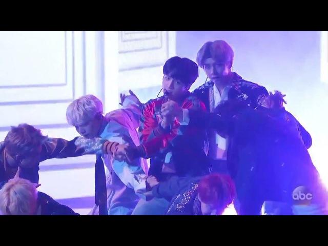 BTS (방탄소년단) - DNA (Live At The AMAs 2017) U.S. Television Debut (아메리칸 뮤직 어워드가 한 2017)