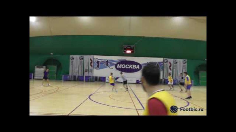 FOOTBIC.RU. Видеообзор 15.06.2017 (Метро Марьина Роща). Любительский футбол