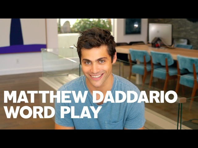 Matthew Daddario for RAW's Word Play