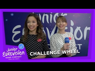 CHALLENGE WHEEL WITH IRINA BRODIĆ & JANA PAUNOVIĆ FROM SERBIA! 🇷🇸