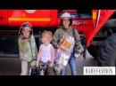 Центр детской моды BABYFASHION. Спец.урок фотопозирования для мальчиков: Пожарные