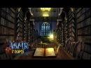 Harry Potter ASMR - Hogwarts Library REMAKE - Ambient soundscape cinemagraph