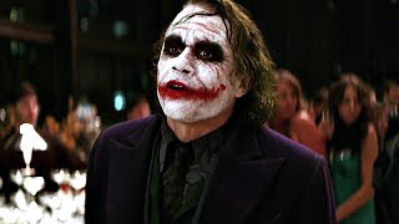 Джокер со своей бандой врывается в апартаментах Уэйна. А что ты нервничаешь? Из-з...