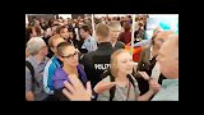 Klassische Schwalbe - Im Video angeblicher Übergriff auf angeblichen Journalisten Nico Wehnemann