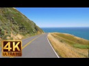4K Ultra HD California Scenic Bike Ride with Music - Coleman Valley Road, California - 5 Hours
