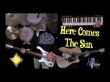 Here Comes The Sun - Instrumental Cover - Guitar, Bass, Drums, Moog and Strings