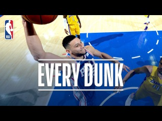 Julius Randle, Andre Roberson, Ben Simmons, and Every Dunk From Thursday Night | Dec. 7, 2017