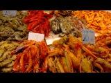 Морепродукты на Центральном рынке в Валенсии