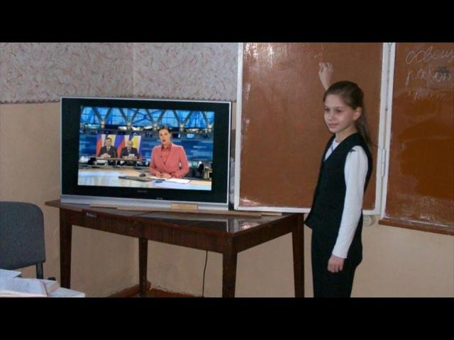 Назад в СССР. Телевизионное воспитание в школе.