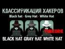 Классификация хакеров White Hat - Gray Hat - Black Hat