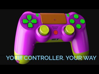 Custom Modded Controllers for PS4, Xbox One, Xbox One Elite, PS3 and Xbox 360