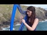 DAFT PUNK - Get lucky - harp harpe