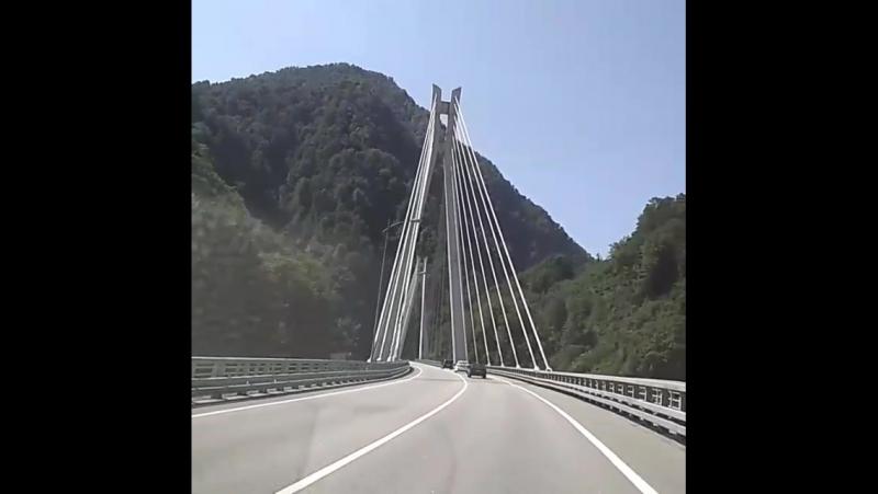 По дороге на Красную Поляну
