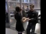 Chris Evans and Scarlett Johansson play hot hands