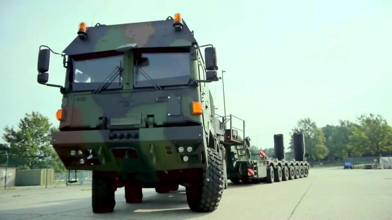 Rheinmetall Defence - Mammut HX 8X8 High Mobility Truck [1080]