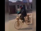 #Я буду долго гнать велосипед. 😁