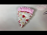 Valentine's Day Pizza Cookies by Dulcia Bakery