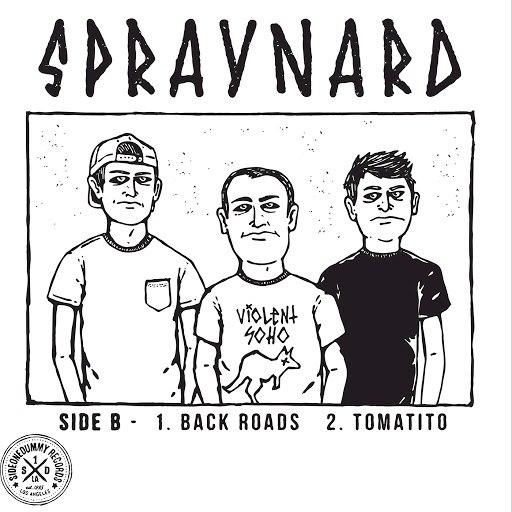 Spraynard альбом Back Roads/Tomatito