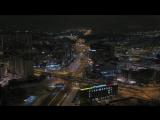 Ночной пролет над Ладожской