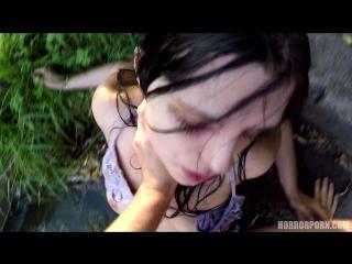 #pron lake horror
